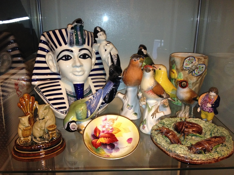 Some Restored Ceramics