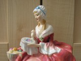 Royal Doulton figurine after repair and restoration